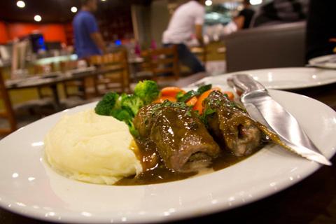 Flame Gourmet Bankstown - Veal Involtini