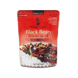 Passage To Chinese - Black Bean Stirfry Sauce - Halal Groceries and
