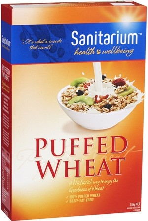 Sanitarium Puffed Wheat Halal Groceries And Products