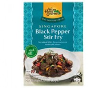 Asian Home Gourmet Singaporean Black Pepper Stir Fry Spice Paste