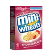 Kellogg's Mini-Wheats Mixed Berry Flavour