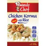 2 Minute Chef Chicken Korma With Rice