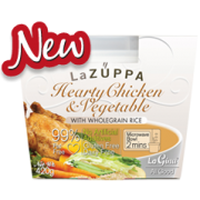 La Zuppa Hearty Chicken and Vegetable with Wholegrain Rice Soup