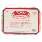 Pozza Foods Beef Canneloni
