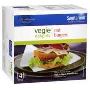 Sanitarium Veggie Delights Not Burger