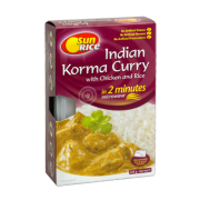 Sunrice Indian Korma Curry with Chicken and Rice