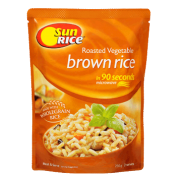 Sunrice Roasted Vegetable Brown Rice in 90 Seconds