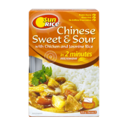 Sunrice Chinese Sweet & Sour with Chicken and Jasmine Rice