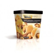 Weis' Premium Macadamia Chunks with Mango and Cream Tub