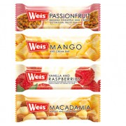 Weis' Vanilla and Raspberries Bar